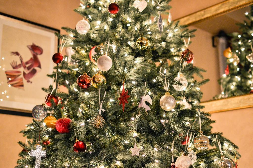 Weihnachtsbaum Engelshaar.Oh Tannenbaum Zentralstaubsauger Ch